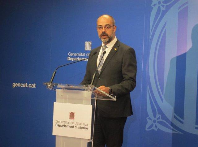 El conseller d'Interior Miquel Buch.