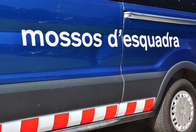 Vehicle dels Mossos d'Esquadra.