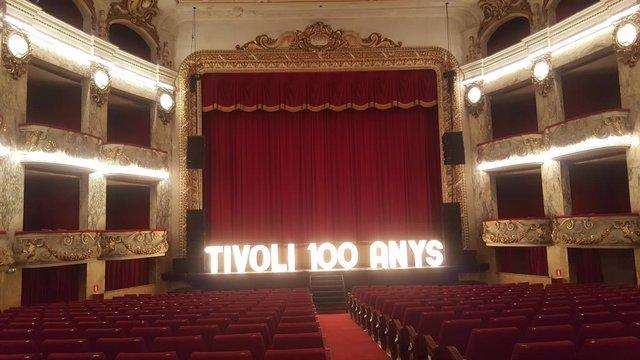 100è aniversari del Teatre Tívoli.