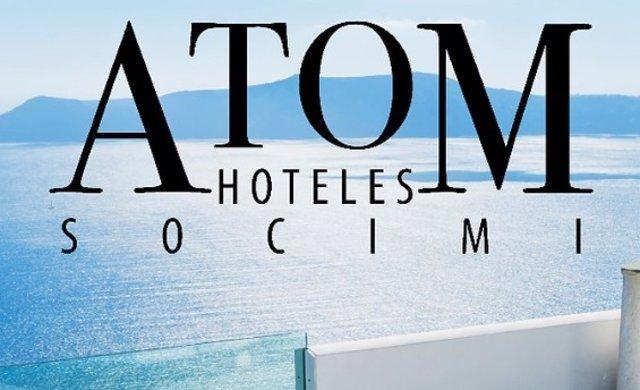 Logo de Atom Hoteles, la socimi de Bankinter