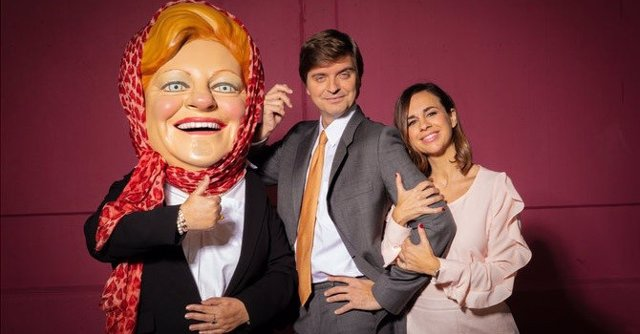 Laia Ferrer i Marc Giró, presentadors del sorteig de 'La Grossa de Cap d'Any' 2019
