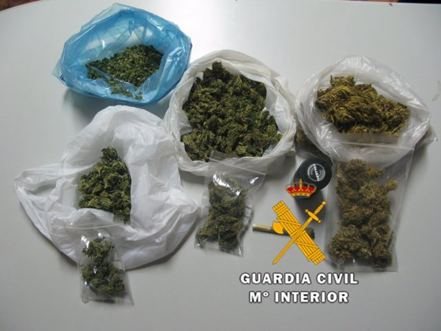 Guardia civil marihuana drogas