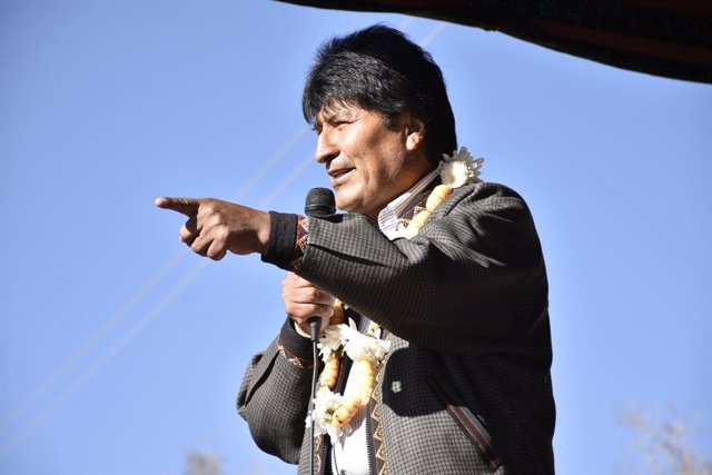 L'expresident de bolivia, Evo Morales