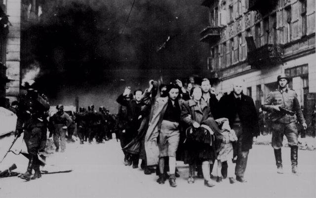 Gueto judío en Varsovia durante la II Guerra Mundial