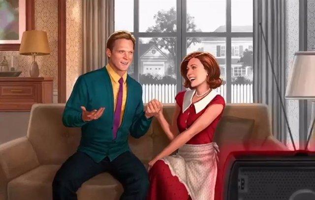 Imagen promocional de la serie Wandavision