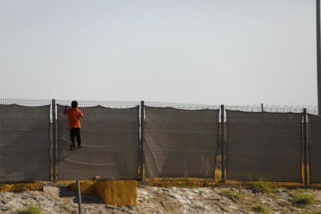 Frontera de Mxic amb els Estats Units a Nuevo Laredo