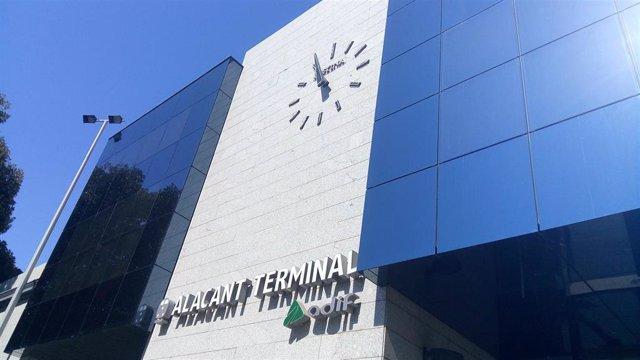 Estació d'Alacant Terminal, d'arxiu.