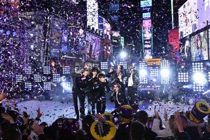 BTS conquistan Times Square