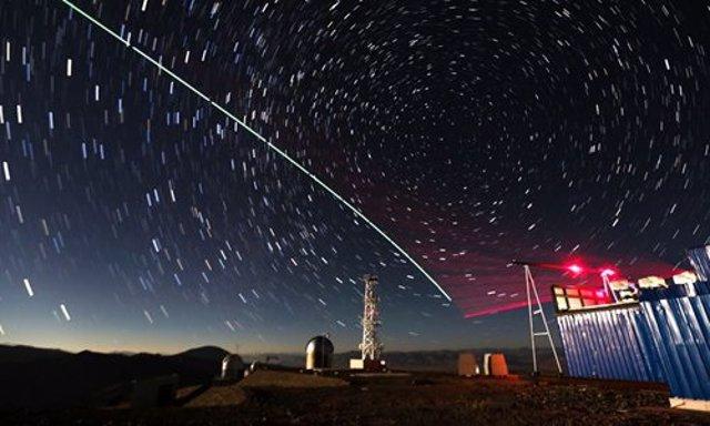 Enlace cuántico espacio-tierra