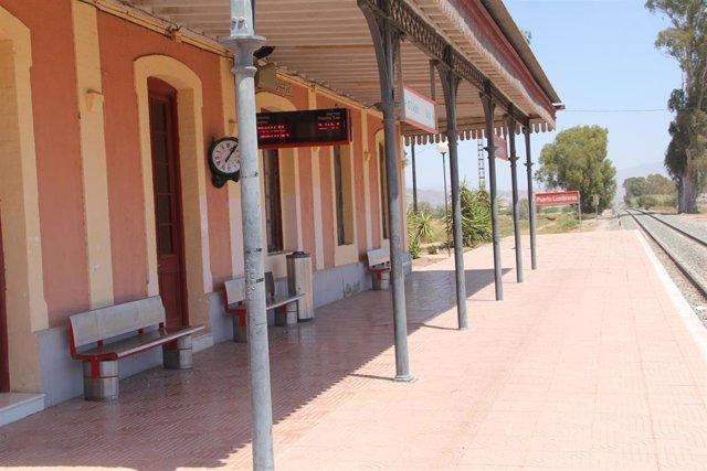 Estación tren Puerto Lumbreras