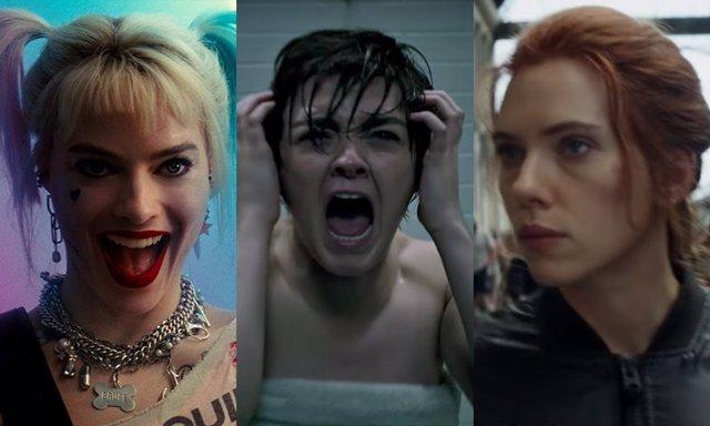 Tres de las heroinas que protagonizarán la cartelera de 2020