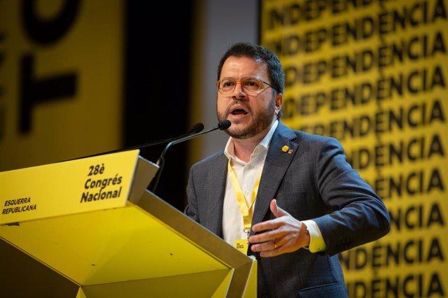 El vicepresident del Govern, Pere Aragonès, en una imatge d'arxiu.