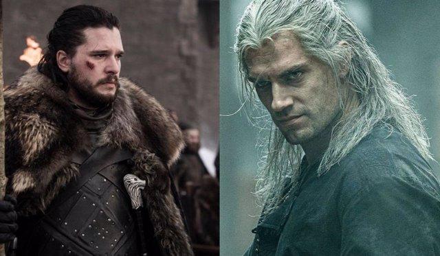 Jon Nieve y Geralt de Rivia, héroes de Juego de Tronos y The Witcher respectivamente