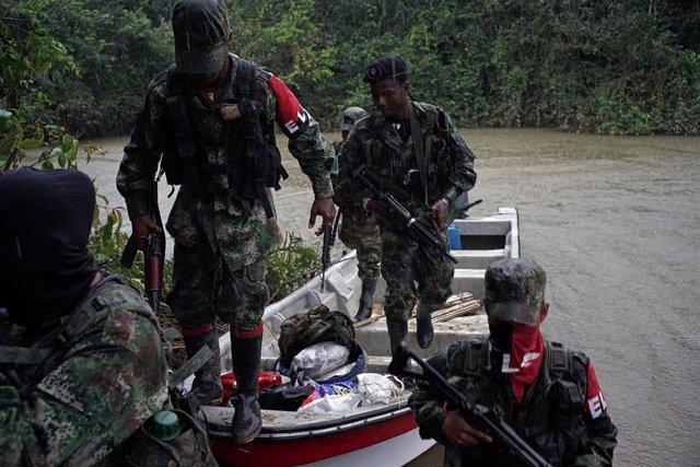 Miembros del Ejército de Liberación Nacional (ELN) de Colombia,