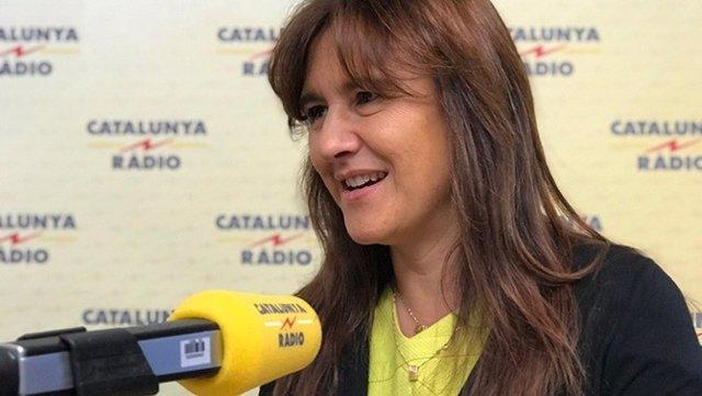 La portaveu de JxCat al Congrés, Laura Borrs