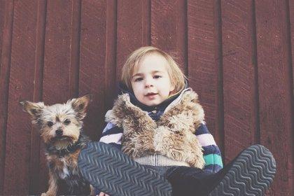 Cómo el perro se convierte en un apoyo emocional en la infancia