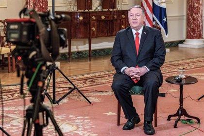 """Irak.-Pompeo asegura a otros gobiernos que """"EEUU sigue comprometido con rebajar las tensiones"""" en Oriente Próximo"""