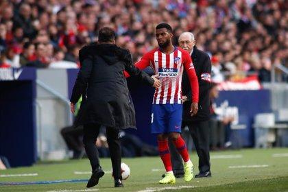 """Fútbol.- Simeone no asegura la continuidad de Lemar: """"No ha podido responder a las expectativas"""""""