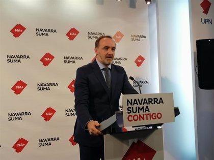 """UPN dice que """"desprecia al Amejoramiento quien está dispuesto a que Navarra desaparezca"""""""