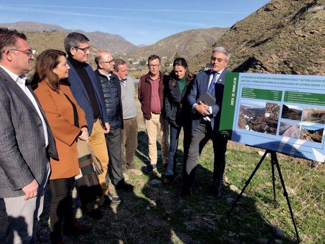 Almería.-Crespo anuncia la licitación de la segunda fase para la restauración am