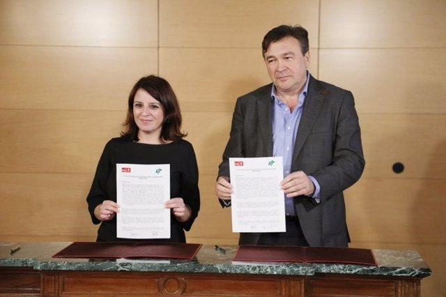Acord d'investidura del PSOE i del diputat de Terol Existeix, Tomás Guitarte