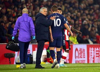 """Kane estará de baja """"por un tiempo"""" tras su lesión en la pierna izquierda"""