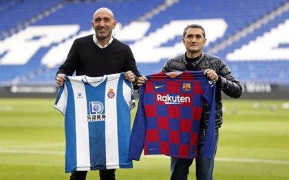 Un derbi Espanyol-Barça de contrastes e ilusiones