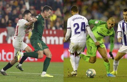 (Crónica) El Sevilla no puede con el Athletic y el Valladolid frena a un renacido Leganés