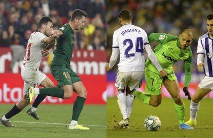 El Sevilla no puede con el Athletic y el Valladolid frena a un renacido Leganés