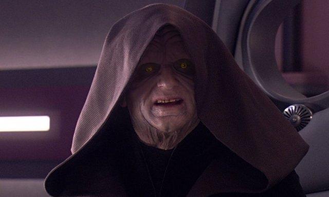 El Emperador Palpatine en La Venganza de los Sith