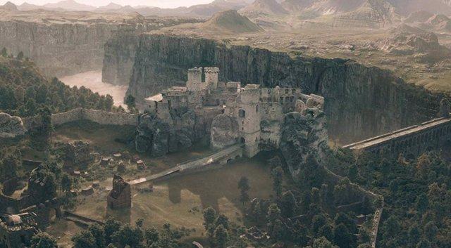 Uno de los mágicos castillos que aparecen en The Witcher