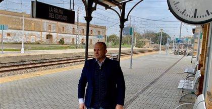 """Ciudadanos lamenta que """"el dedo de Sánchez acentúa la Huelva vaciada"""" al guiarse por rentabilidad en Renfe"""