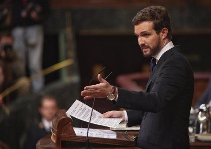 """Casado avisa a Sánchez que el PP se enfrentará con todos sus recursos a la """"operación de derribo constitucional"""""""