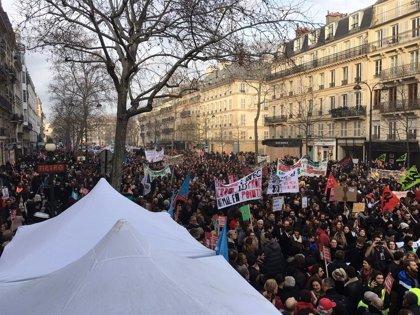 La caja de resistencia en apoyo a la huelga indefinida en Francia suma ya 1,6 millones de euros
