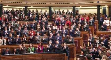 El pleno del debate de investidura, en imágenes