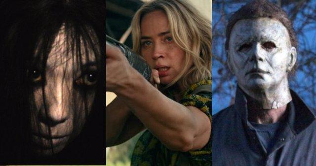 La maldición, un lugar tranquilo 2 o Halloween Kills son algunos de los más aterradores estrenos de los años