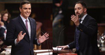 """Abascal pide derogar leyes que """"dividen"""" como la de violencia machista y Sánchez le responde con datos"""