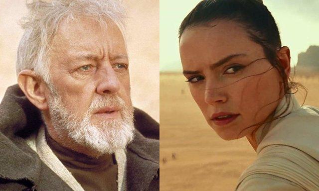 Obi Wan y Rey, pasado y presente de la Fuerza