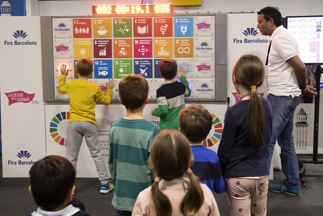 Saló 'La Ciutat dels Somnis' de 2020, protagonitzada per la sostenibilitat i els ODS, en el recinte Montjuïc de Fira de Barcelona