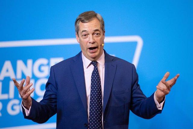 Brexit.- Farage planea celebrar el Brexit con fuegos artificiales y actuaciones