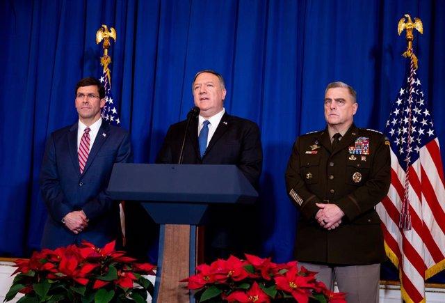 Irak.- Pompeo llama a Turquía, Israel y Bahréin para hablar sobre las tensiones