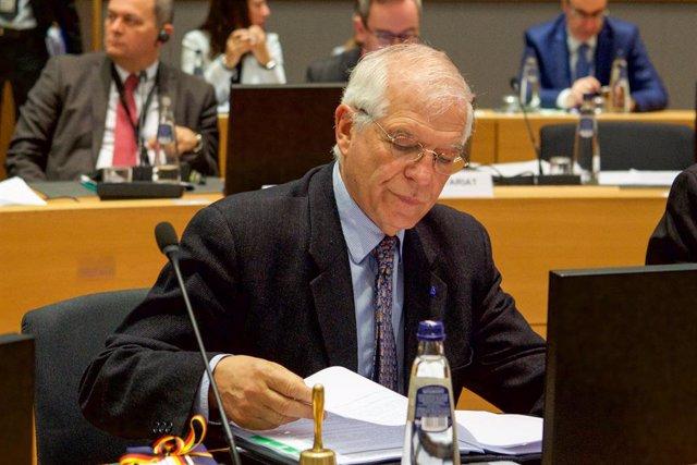 Irak.- Borrell habla con el ministro de Exteriores iraní sobre la necesidad de r