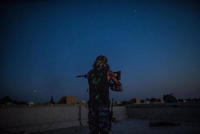 Combates en Trípoli