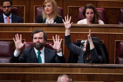 """Bronca en el Congreso con la intervención de Bildu, con gritos de """"asesinos"""" y """"terroristas"""""""