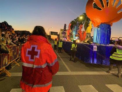 Más de 150 voluntarios y 25 ambulancias de Cruz Roja velarán por el desarrollo de las Cabalgatas de Reyes en Extremadura