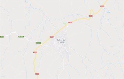 Una mujer resulta herida tras ser arrojada desde una furgoneta en Belvís de la Jara