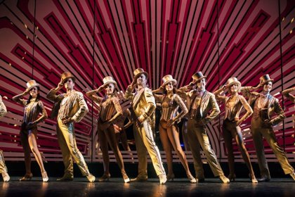 El musical codirigido por Antonio Banderas 'A Chorrus Line' estará en Bilbao del 6 al 16 de febrero