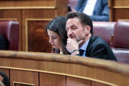 """Ciudadanos afirma que Sánchez """"blanquea"""" el discurso """"nauseabundo"""" de Bildu porque necesita sus votos"""
