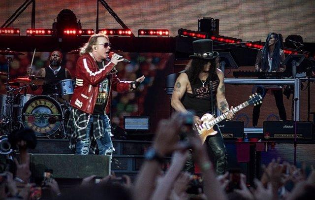 Guns n' Roses en Madrid en 2017