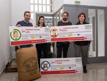 Cruz Roja lanza la campaña para promover el acceso al mercado laboral de las personas con mayores dificultades